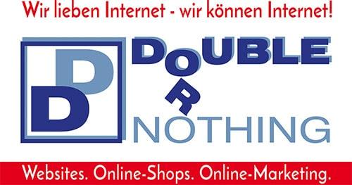 double or nothing Internetagentur - Websites. Online-Shops. Online-Marketing.